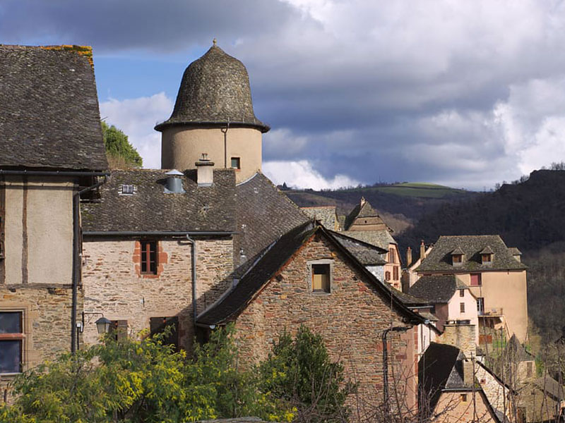 Conques - Village médiéval